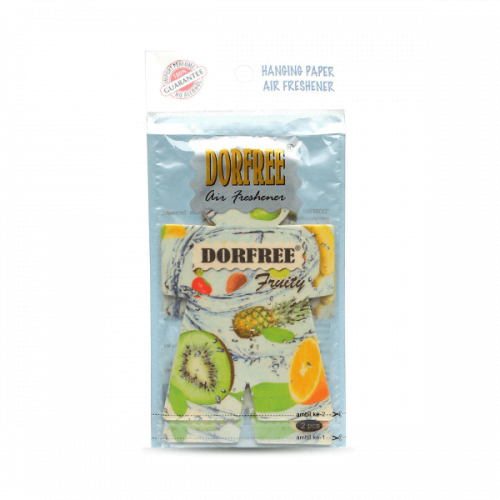Dorfree Hanging Paper Air Freshener Fruity