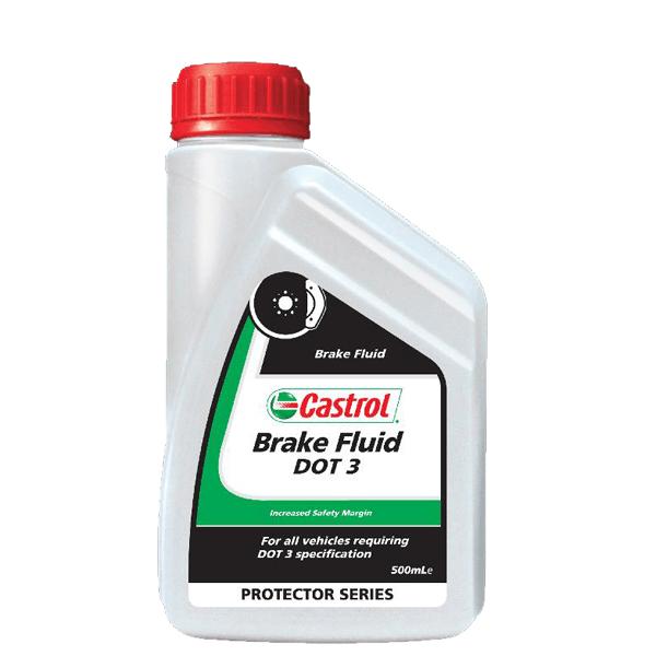 Castrol Brake Fluid Dot 3 500ml