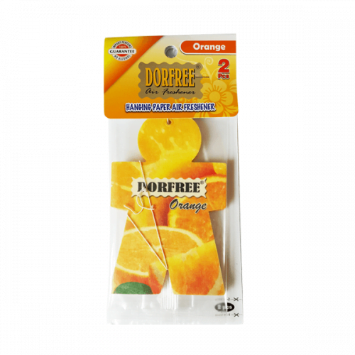 Dorfree Hanging Paper Air Freshener Orange