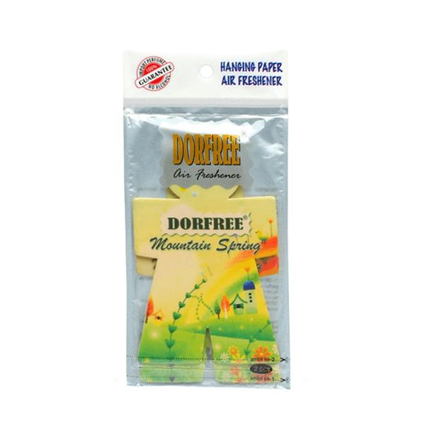 Dorfree Hanging Paper Air Freshener Mauntain Spring