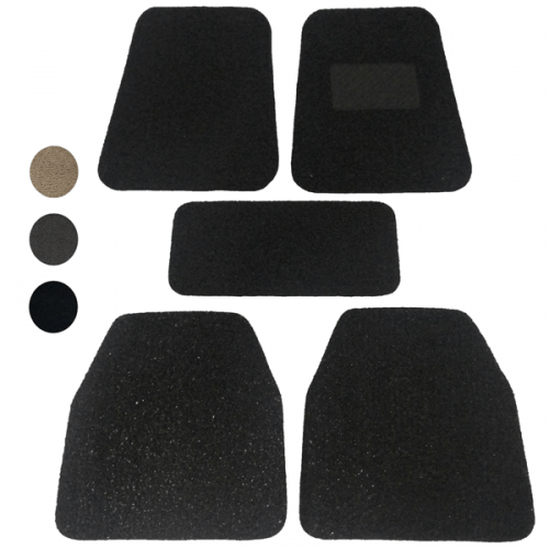 Adventurer PVC Car Mat Hitam