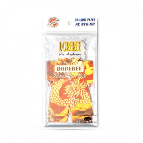 Dorfree Hanging Paper Air Freshener Mandarin Line