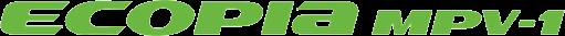 Bridgestone Ecopia MPV 1 Logo