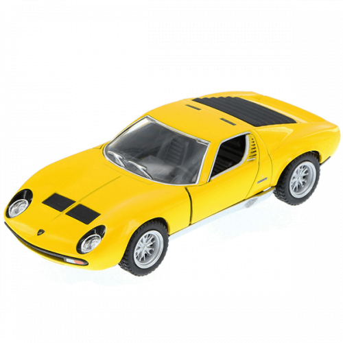 Diecast Lamborghini Miura yello