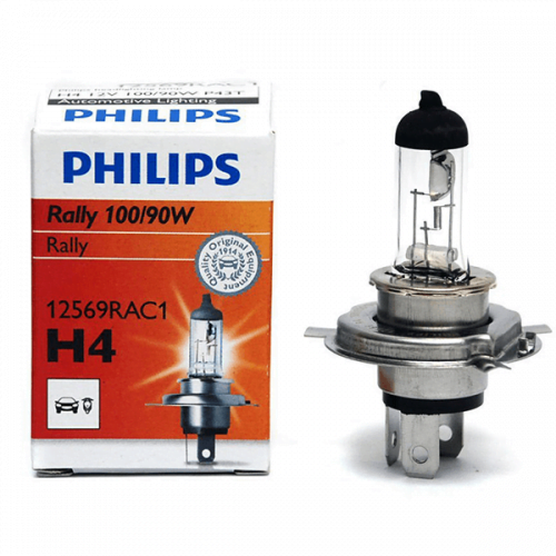 Philips H4 RALLY 12V 100 90W