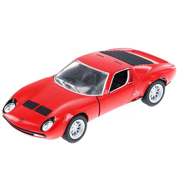 Diecast Lamborghini Miura Red
