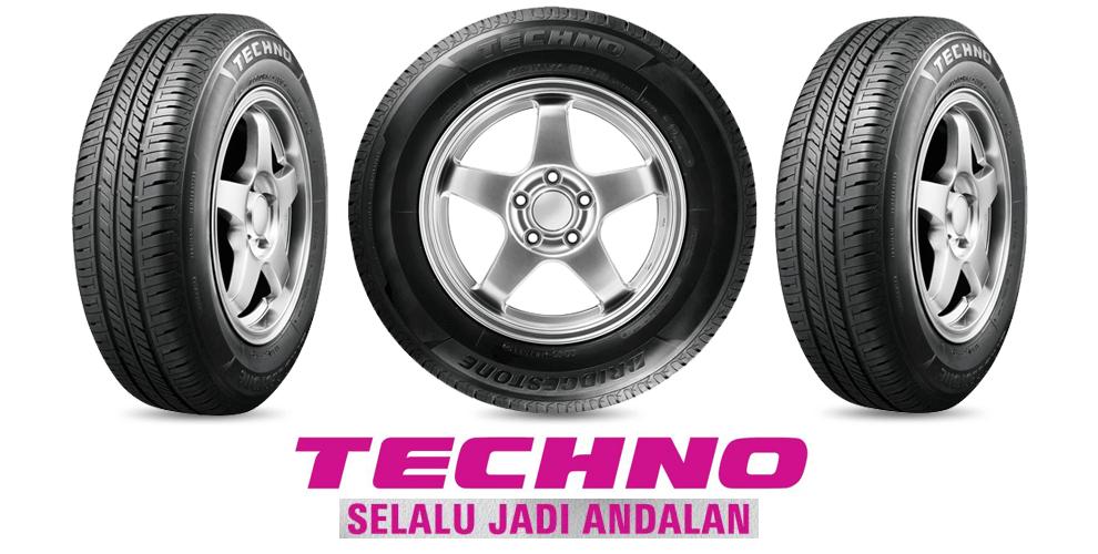 Konvensional Pattern Bridgestone New Techno Tecaz