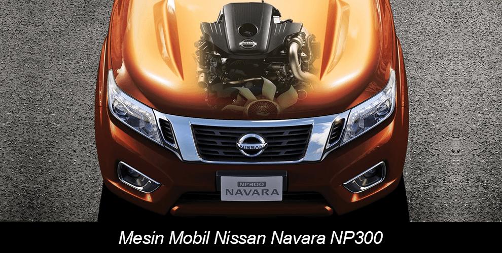 Mesin Nissan Navara NP300