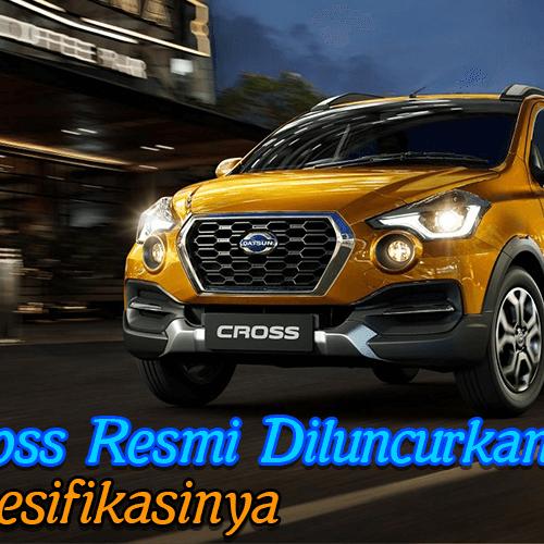 Datsun Cross resmi diluncurkan, begini spesifikasinya