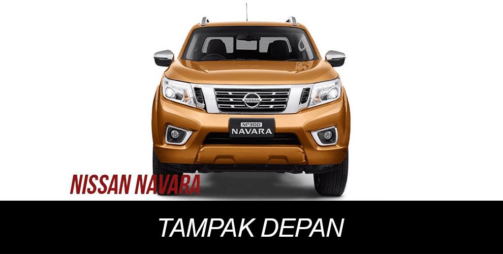 Tampak Depan Nissan Navara NP300
