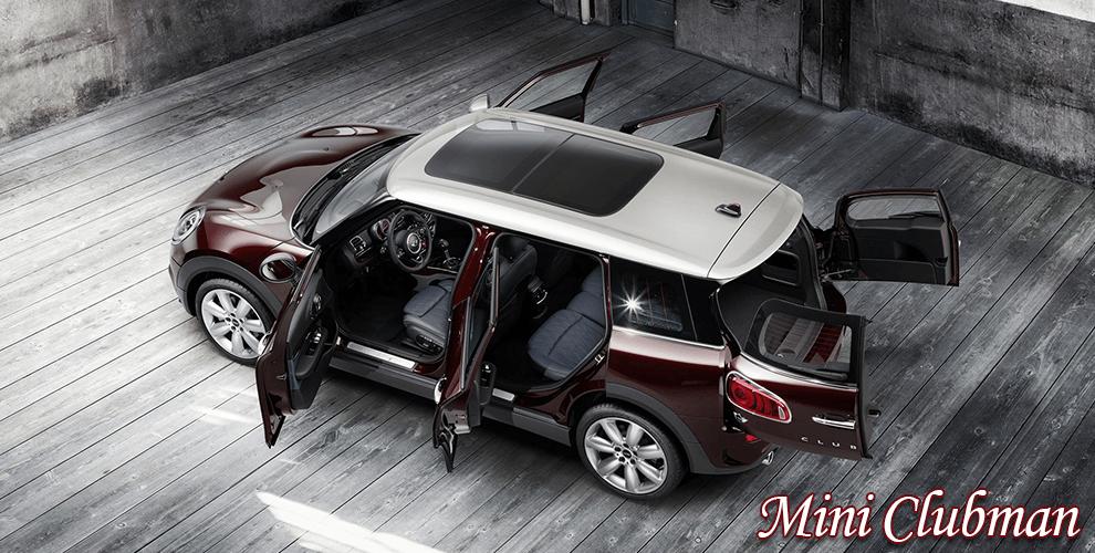 4 pilihan mobil bersegmentasi station wagon Mini Clubman