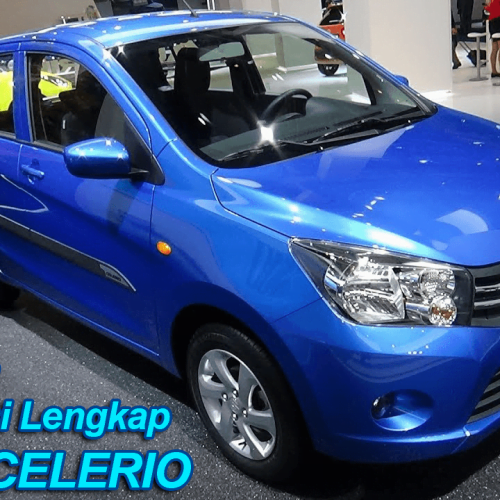 Harga dan Spesifikasi Lengkap Suzuki CELERIO 1