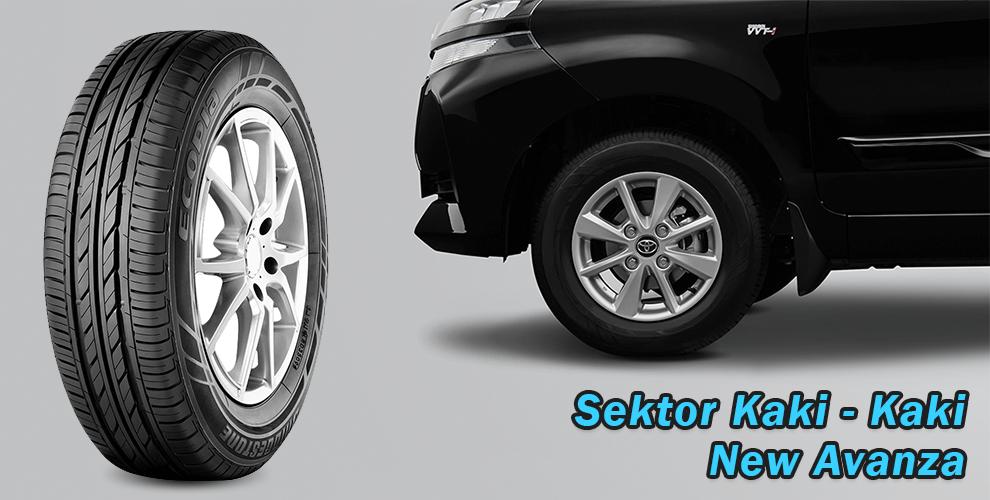 Sektor Kaki - Kaki Toyota New Avanza 2019